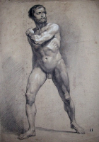 Francesco Gonin - 19th century - drawing - 43 x 57 cms - PRICE ON REQUEST
